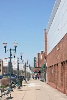 Downtown pontiac