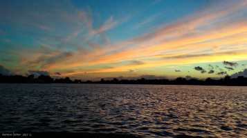 Sunset lake 2017
